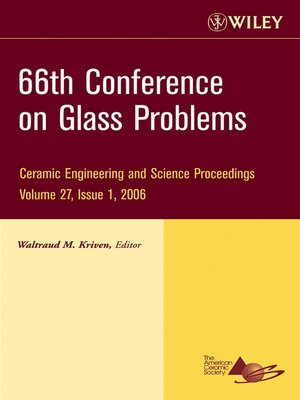 cover image of 66th Conference on Glass Problems