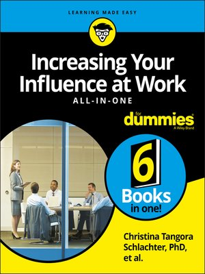 cover image of Increasing Your Influence at Work All-In-One For Dummies