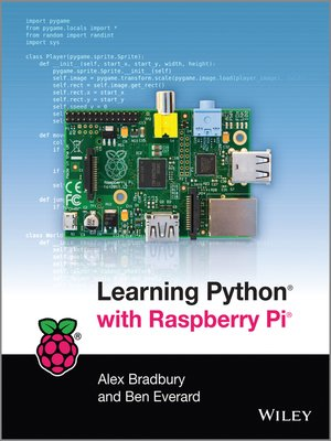 cover image of Learning Python with Raspberry Pi