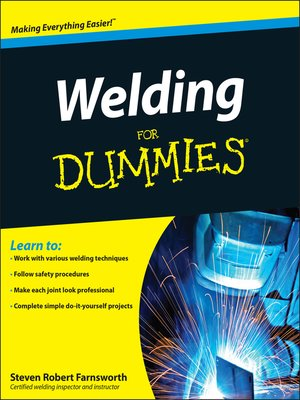 cover image of Welding For Dummies