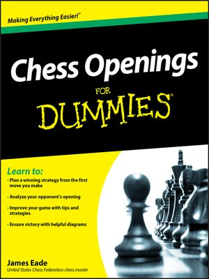 cover image of Chess Openings For Dummies
