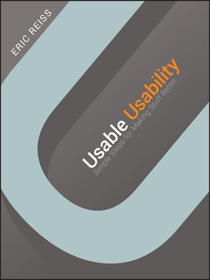 cover image of Usable Usability