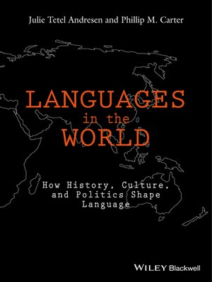 cover image of Languages In the World