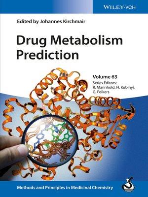 cover image of Drug Metabolism Prediction, Volume 63