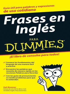 cover image of Frases en Ingles Para Dummies
