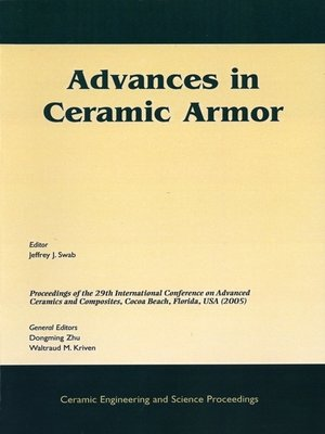 cover image of Advances in Ceramic Armor