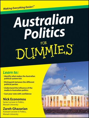 cover image of Australian Politics For Dummies