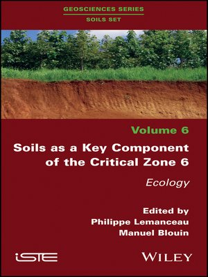 cover image of Soils as a Key Component of the Critical Zone 6
