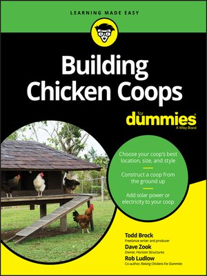 cover image of Building Chicken Coops For Dummies