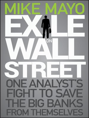 cover image of Exile on Wall Street