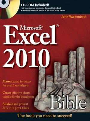 cover image of Excel 2010 Bible