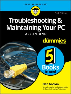 cover image of Troubleshooting & Maintaining Your PC All-in-One For Dummies