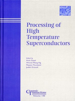 cover image of Processing of High Temperature Superconductors