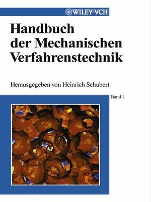 cover image of Handbuch der Mechanischen Verfahrenstechnik