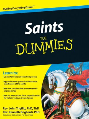 cover image of Saints For Dummies