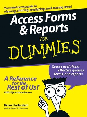 cover image of Access Forms & Reports For Dummies