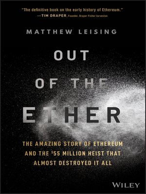 cover image of Out of the Ether