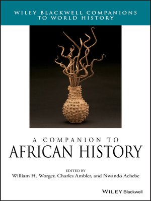 cover image of A Companion to African History