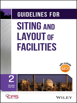 cover image of Guidelines for Siting and Layout of Facilities