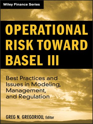cover image of Operational Risk Toward Basel III