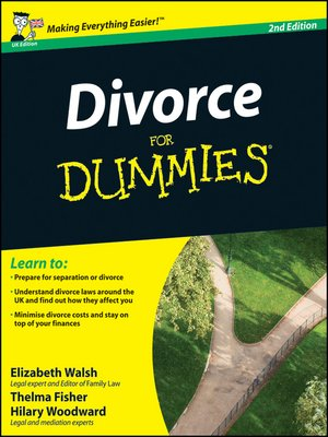 cover image of Divorce For Dummies, UK Edition