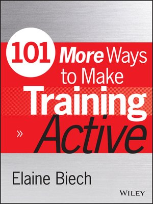 cover image of 101 More Ways to Make Training Active