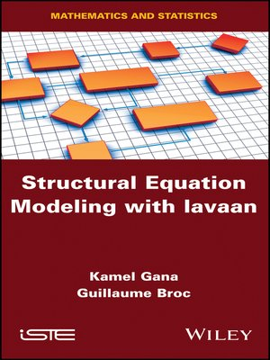 cover image of Structural Equation Modeling with lavaan