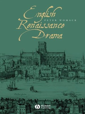 cover image of English Renaissance Drama
