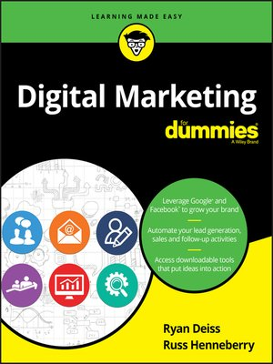 cover image of Digital Marketing for Dummies