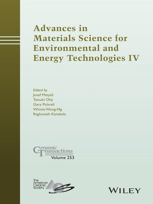 cover image of Advances in Materials Science for Environmental and Energy Technologies IV