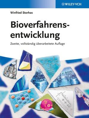 cover image of Bioverfahrensentwicklung