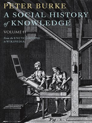 cover image of A Social History of Knowledge II