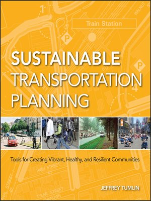 cover image of Sustainable Transportation Planning