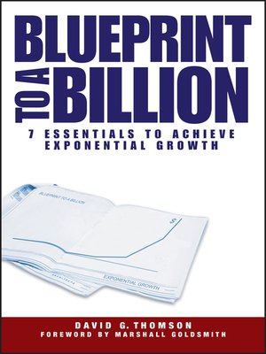 cover image of Blueprint to a Billion
