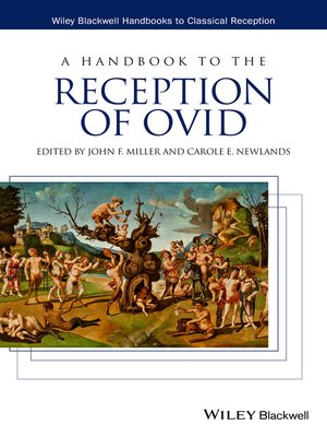 cover image of A Handbook to the Reception of Ovid