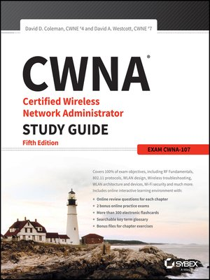 cover image of CWNA Certified Wireless Network Administrator Study Guide