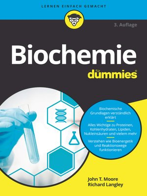 cover image of Biochemie für Dummies