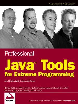 cover image of Professional Java Tools for Extreme Programming