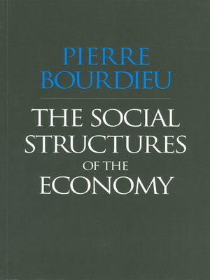 cover image of The Social Structures of the Economy
