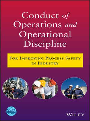 cover image of Conduct of Operations and Operational Discipline