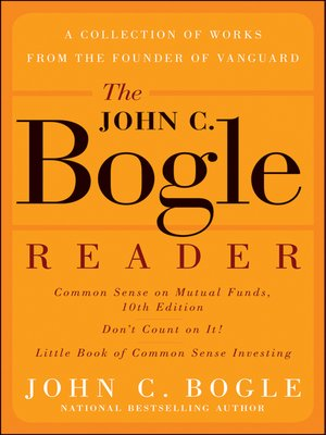 cover image of The John C. Bogle Reader