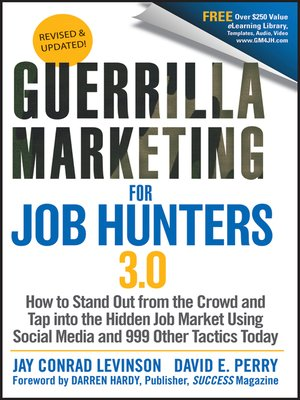 cover image of Guerrilla Marketing for Job Hunters 3.0