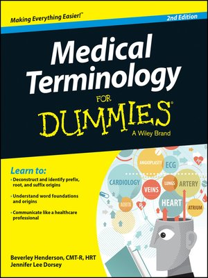 cover image of Medical Terminology For Dummies