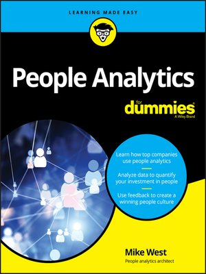 cover image of People Analytics For Dummies