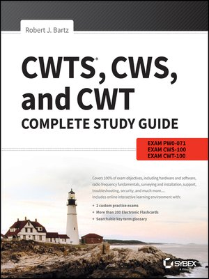 cover image of CWTS, CWS, and CWT Complete Study Guide