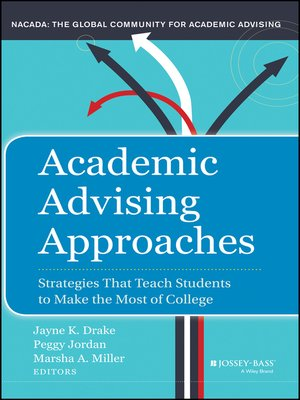 cover image of Academic Advising Approaches