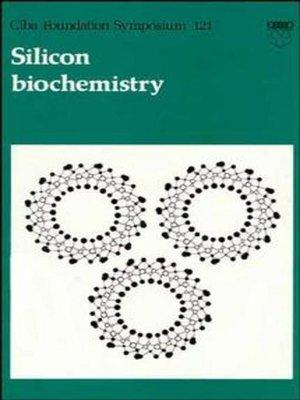 cover image of Silicon Biochemistry
