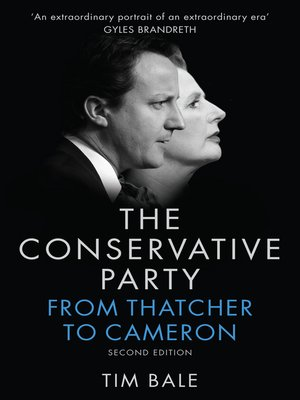 cover image of The Conservative Party