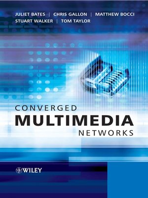 cover image of Converged Multimedia Networks