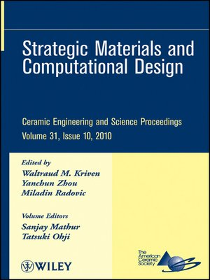 cover image of Strategic Materials and Computational Design